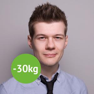 Michael Baron hat schon seit 10 Jahren 30kg weniger